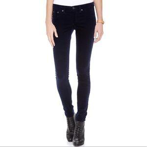 Rag & Bone Velvet Legging Jeans